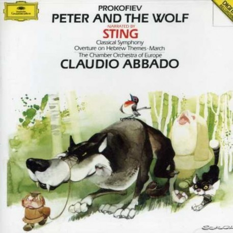 CD. PETER AND THE WOLF