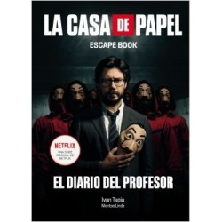 Libro. LA CASA DE PAPEL - ESCAPE BOOK