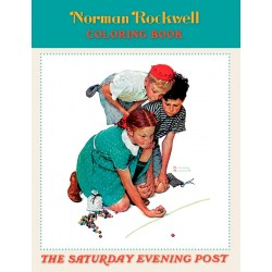 Libro de colorear. Norman Rockwell Coloring Book