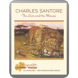 Rompecabezas. THE LION AND THE MOUSE. 100 piezas