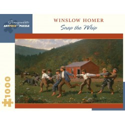 Rompecabezas. Winslow Homer: Snap the Whip 1000-Piece Jigsaw Puzzle