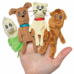 Títeres de dedo. Dr. Seuss WHAT PET SHOULD I GET? Finger puppet set