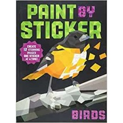 Libro. PAINT BY STICKER. Birds