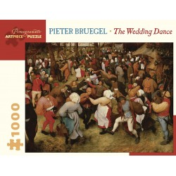 Rompecabezas. PIETER BRUEGEL: THE WEDDING DANCE 1000-PIECE JIGSAW PUZZLE