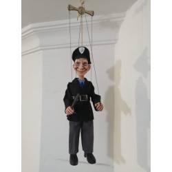 Marioneta de hilo. POLICÍA