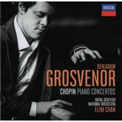 CD. Benjamin Grosvenor. CHOPIN PIANO CONCERTOS