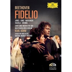 DVD. FIDELIO - Beethoven. Jones, King, Neidlinger, Talvela, Greindl
