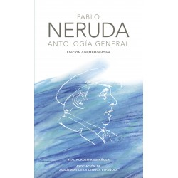 Libro. ANTOLOGÍA GENERAL. Pablo Neruda