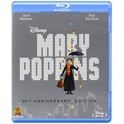 Blu-ray + DVD. MARY POPPINS