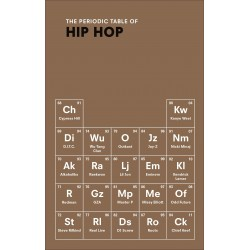 Libro. THE PERIODIC TABLE OF HIP HOP