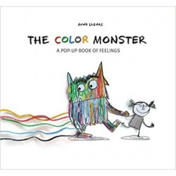 Libro. THE COLOR MONSTER (pop-up)