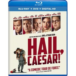 Blu-ray + DVD. HAIL, CESAR!