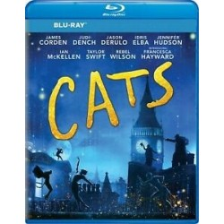 Blu-ray + DVD. CATS. The movie