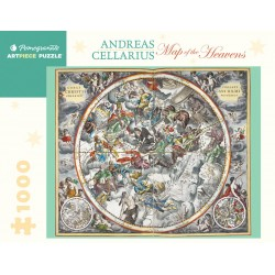 Rompecabezas. Andreas Cellarius: Map of the Heavens 1,000-piece Jigsaw Puzzle