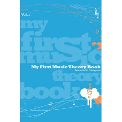 Libro. MY FIRST MUSIC THEORY BOOK Vol. 1