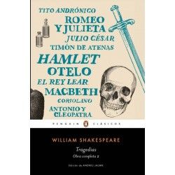 Libro. William Shakespeare. TRAGEDIAS
