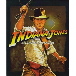 Blu-ray. INDIANA JONES. The Complete Adventures