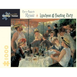 Rompecabezas. Pierre-Auguste Renoir: Luncheon of the Boating Party 1,000-piece Jigsaw Puzzle