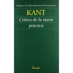 Libro. CRÍTICA DE LA RAZÓN PRÁCTICA - KANT