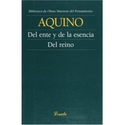 Libro. DEL ENTE Y DE LA ESENCIA. DEL REINO - AQUINO