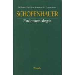 Libro. EUDEMONOLOGÍA - Arthur Schopenhauer