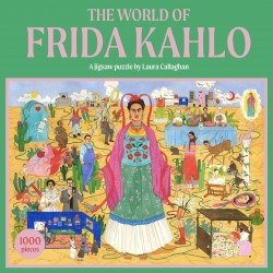 Rompecabezas. The World of Frida Kahlo: A Jigsaw Puzzle - 1000 pieces