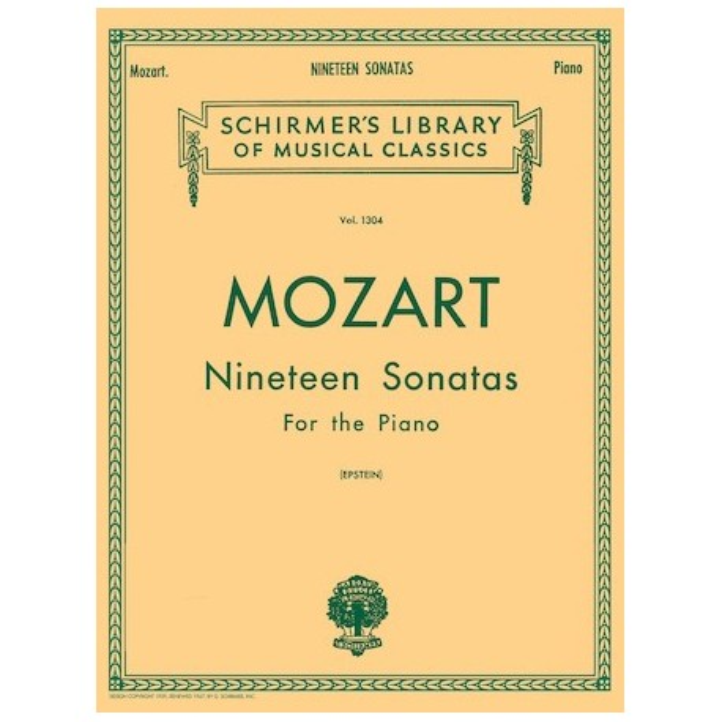 Partitura. 19 SONATAS - NINETEEN SONATAS - Mozart
