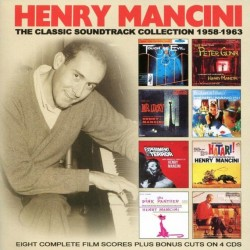 CD. HENRY MANCINO. The classic soundtrack collection 1958-1963