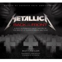 Libro. METALLICA. Back to the Front