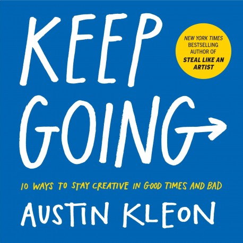 Libro. KEEP GOING - Austin Kleon