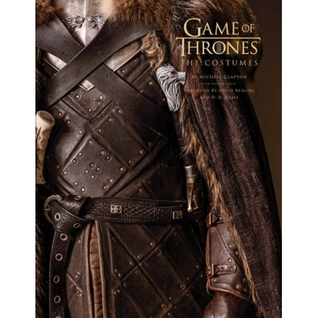 Libro. GAME OF THRONES. The costumes