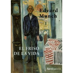 Libro. EL FRISO DE LA VIDA. Edvard Munch