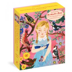 Rompecabezas. Nathalie Lété: The Girl Who Reads to Birds 500-Piece Puzzle