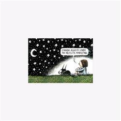 Agenda anillada. MAFALDA 2021 (naranja)