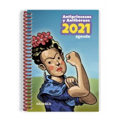 Agenda anillada. ANTIPRINCESAS 2021