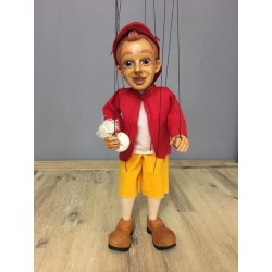 Marioneta de hilo. PINOCHO - Antique