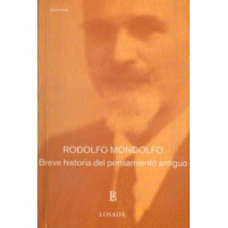 Libro. BREVE HISTORIA DEL PENSAMIENTO ANTIGUO