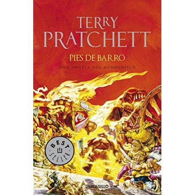 Libro. PIES DE BARRO - Terry Prachett