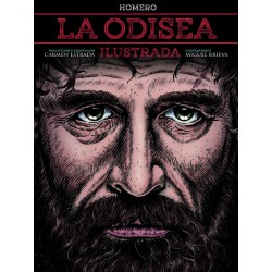Libro. LA ODISEA. Ilustrada