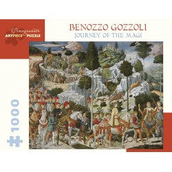 Rompecabezas. Benozzo Gozzoli: Journey of the Magi 1000-Piece Jigsaw Puzzle