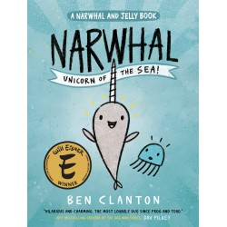 Libro. NARWHAL UNICORN OF THE SEA! (A narwhal and jelly book)