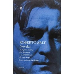 Libro. NOVELAS. Roberto Arlt