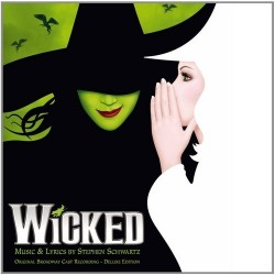 CD. WICKED. Original Broadway Cast. Deluxe edition