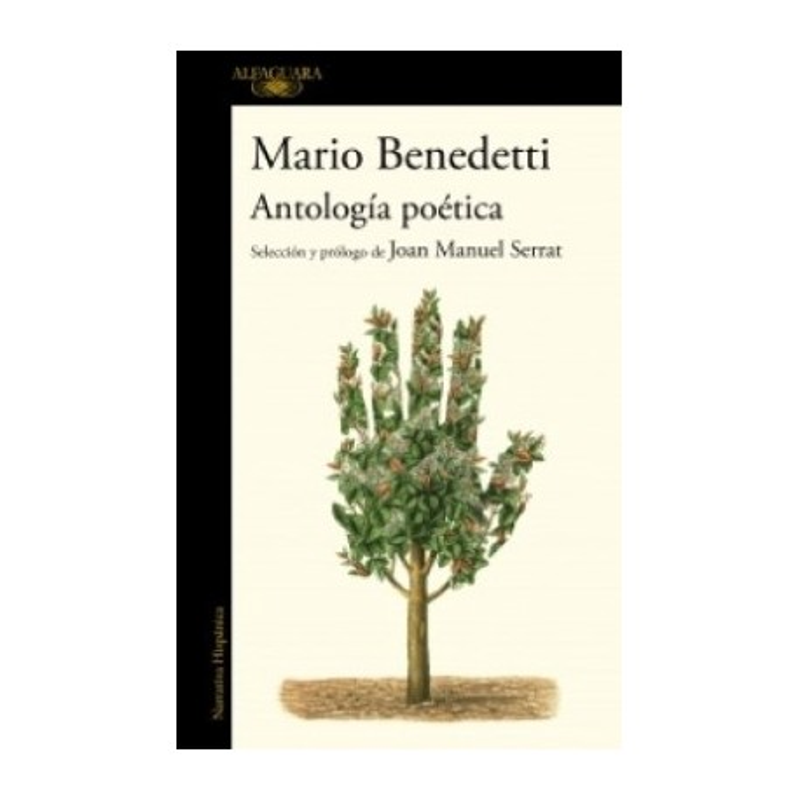 Libro. ANTOLOGÍA POÉTICA - Mario Benedetti