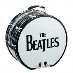 Lonchera de metal. THE BEATLES – DRUM-SHAPED TIN TOTE