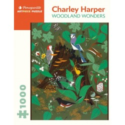 Rompecabezas. Charley Harper: Woodland Wonders 1000-piece Jigsaw Puzzle