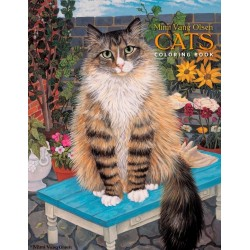 Libro de colorear. Mimi Vang Olsen: Cats Coloring Book