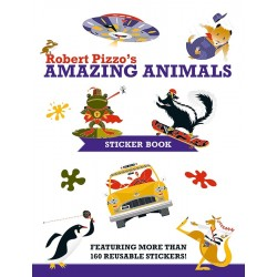 Libro de stickers. Robert Pizzo's Amazing Animals Sticker Book