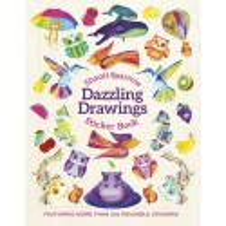 Libro de stickers. Shanti Sparrow: Dazzling Drawings Sticker Book