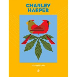 Libro de colorear. Charley Harper: Volume 1 Coloring Book